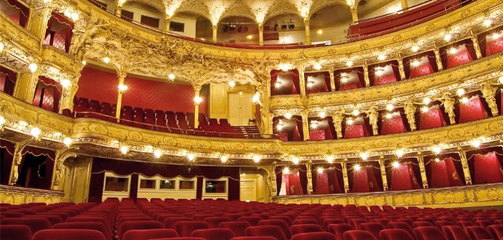国民劇場の講堂
