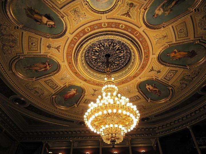 国民劇場の天井